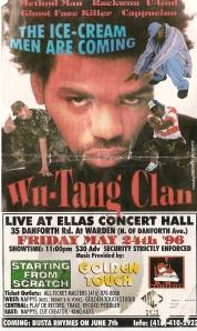 original concert flyer!
