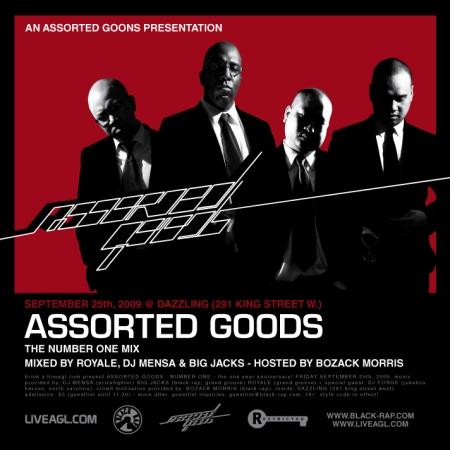 assorted goons - assorted goods the number one mix cd cover front-01