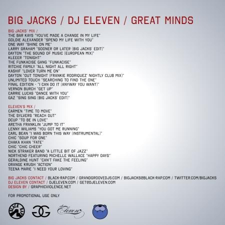 big jacks dj eleven great minds back cover-01