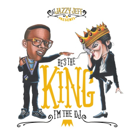 HE'S THE KING-I'M THE DJ CD