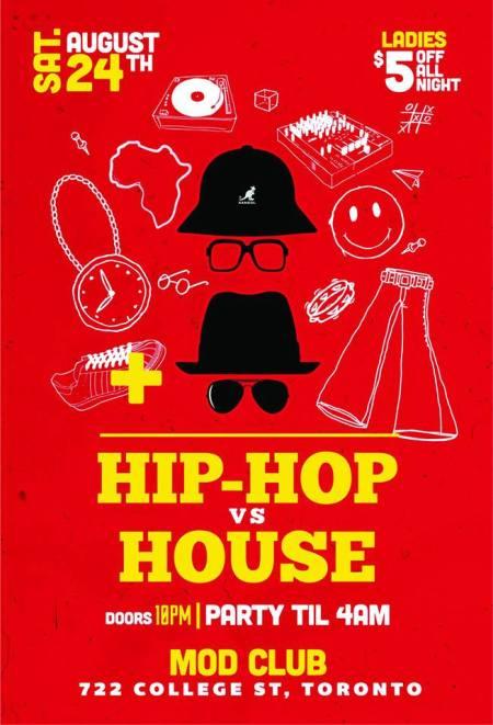hip hop vs house front