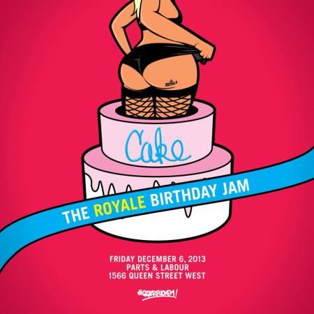 cake flyer