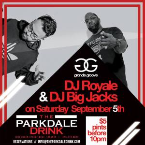 GG at parkdale drink sept 2015